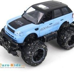 Радиоуправляемый синий джип ZC333 4WD 1:14 2.4G - 333-MUD02B